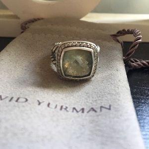 David Yurman Silveralbion 11mm Prasiolite